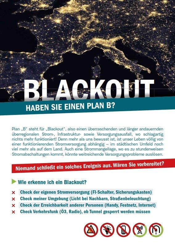 GfKV - Blackout - Haben Sie einen Plan B